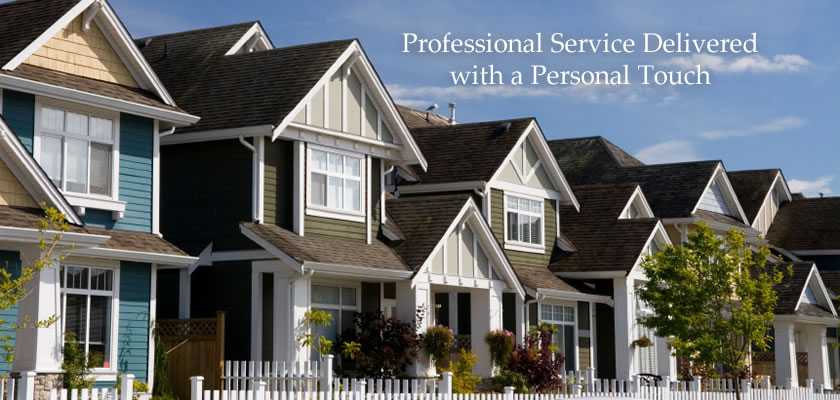 Professional Service Delivered with a Personal Touch